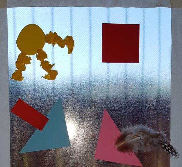 Klebe-(Fenster)-Bild