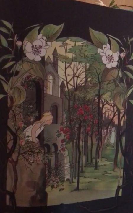 Sibylle liest Prinzesschen im Walde