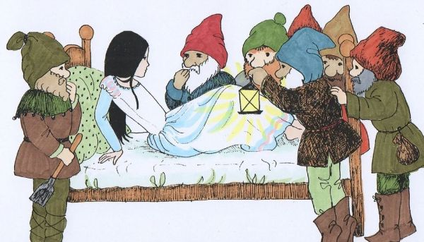"Petra liest ""Schneewittchen"""
