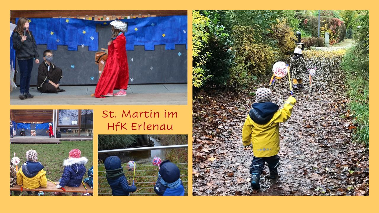 """""""Ich gehe mit  meiner Laterne""""…. St. Martinsfeier im HfK Erlenau"""
