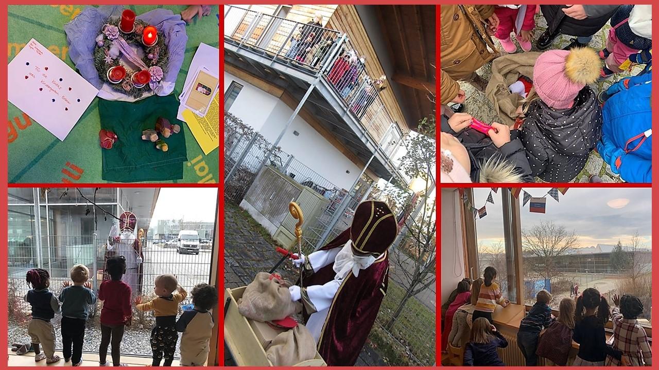 Nikolaus im Haus für Kinder Erlenau