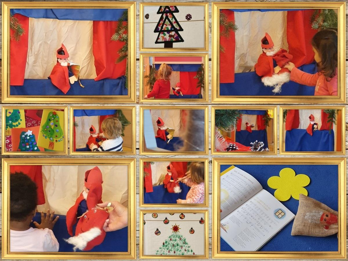 Nikolausfeier im Haus für Kinder Frühlingstraße
