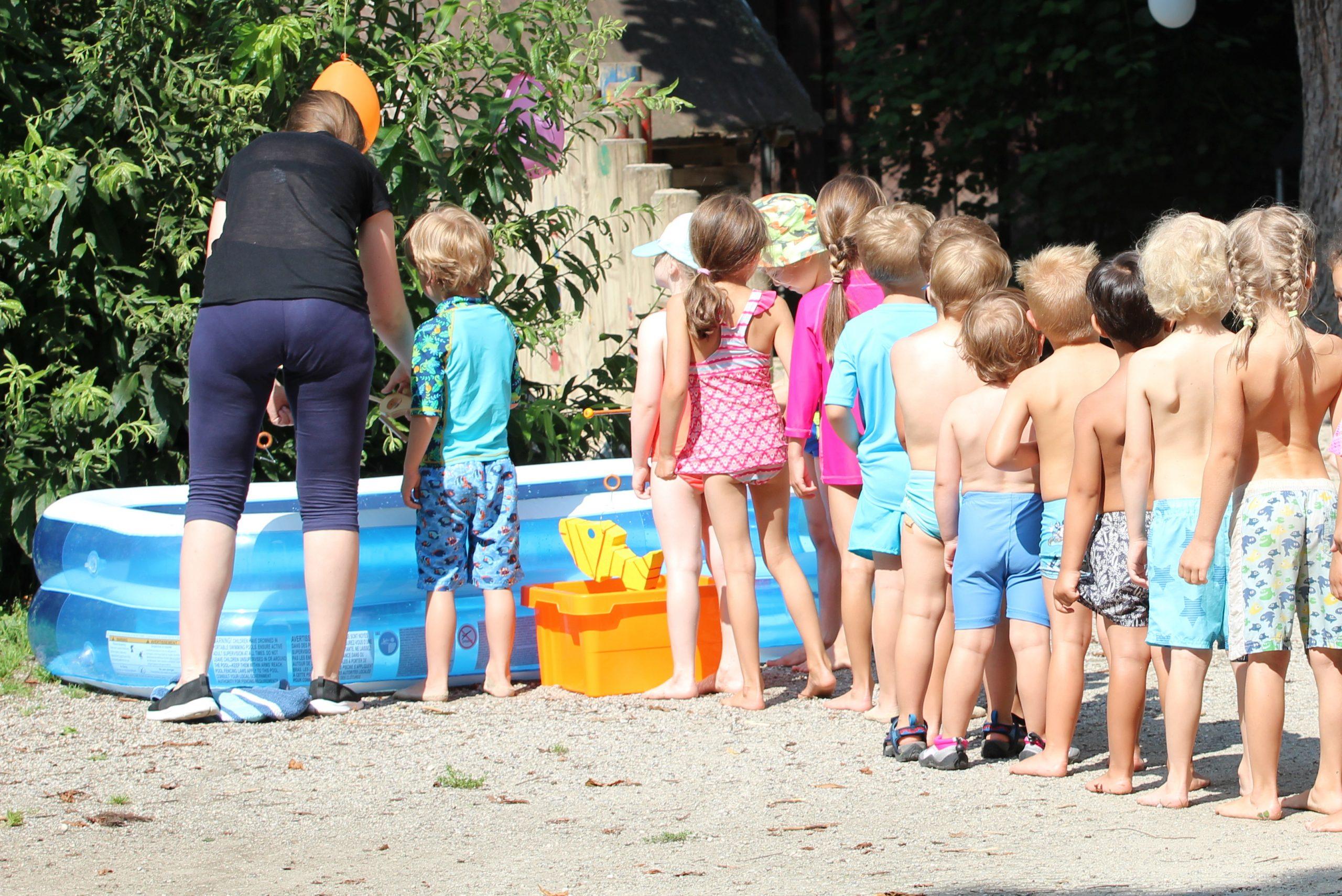 """""""Sommer-Sonne-Wasserspaß"""" im AWO Kindergarten Momo"""